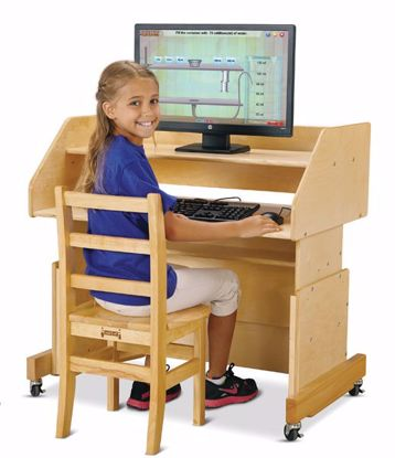 Picture of Jonti-Craft® Columbia Computer Desk