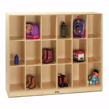 Picture of Jonti-Craft® 18 Cubbie Locker Storage