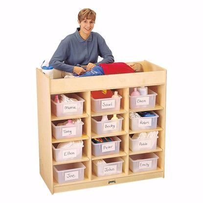 Picture of Jonti-Craft® 12 Tub Changing Table with Pad