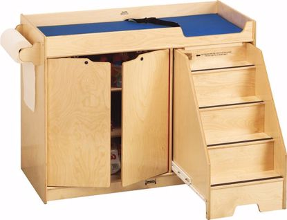 Picture of Jonti-Craft® Changing Table - with Stairs - Right