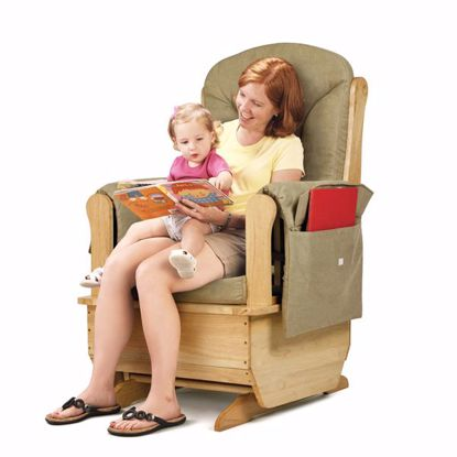 Picture of Jonti-Craft® Glider Rocker - Olive Cushions