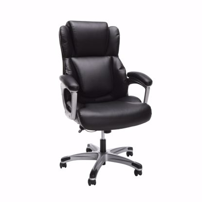Picture of ESSENTIALS Ergonomic Exec Leather Chair BLK