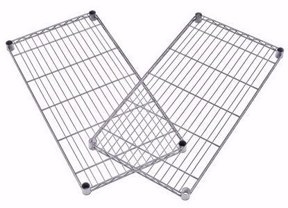Picture of 2 PACK WIRE SHELF 48 X 24 - SILVER