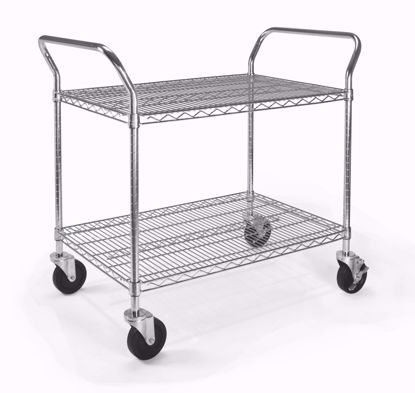Picture of 24 X 36 HEAVY DUTY MOBILE MEDIA CART
