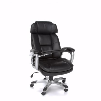 Picture of LEATHER TABLET CHAIR W/ADJUST SIDE BOLSTERS