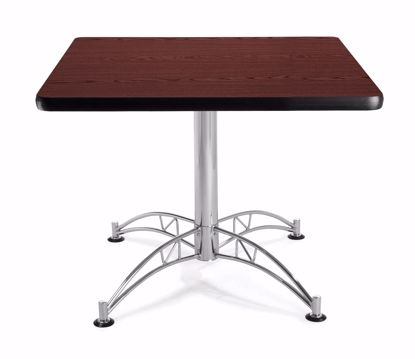 Picture of LT36SQ - 36 INCH SQUARE TABLE - MAHOGANY