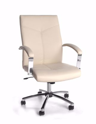 Picture of 20 PACK EXECUTIVE/CONFERENCE CHAIR - CREAM