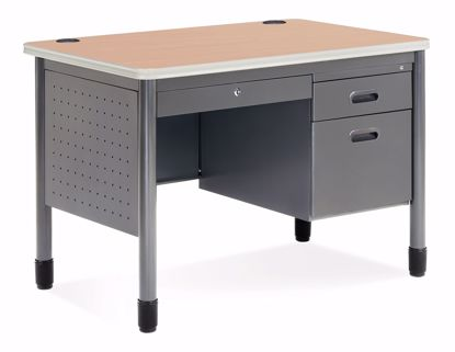 Picture of 25X42 Sales Desk w/CD/Gry Fr/Mpl