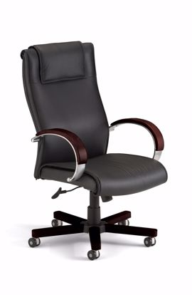 Picture of APEX EXECUTIVE HI-BACK LEATHER-MAH