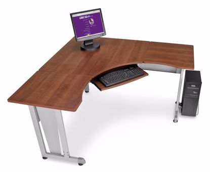 """Picture of WORKSTATION 60""""X60"""" SIDE 24"""" - CHERRY"""