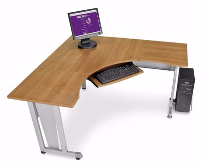 """Picture of WORKSTATION 60""""X60"""" SIDE 24"""" - MAPLE"""