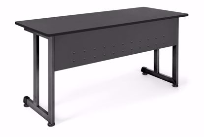 Picture of 24 X 55 TRAINING TABLE - GRAPHITE