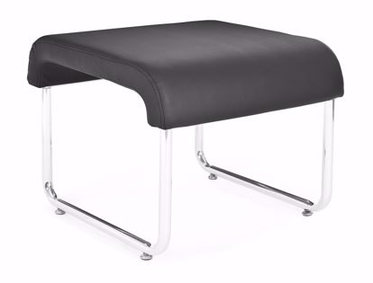 Picture of 2 PACK UNO BACKLESS SEAT - PU BLACK