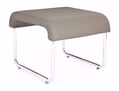 Picture of 2 PACK UNO BACKLESS SEAT - PU TAUPE