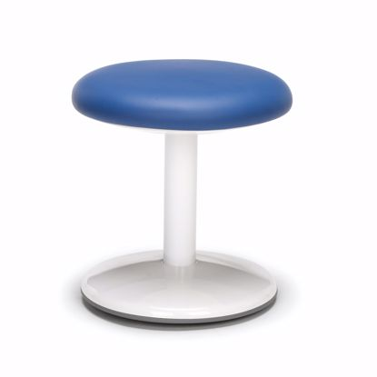 "Picture of ORBIT ACTIVE STOOL 14"" HIGH BLUE VINYL"