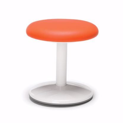 "Picture of ORBIT ACTIVE STOOL 14"" HIGH ORANGE VINYL"