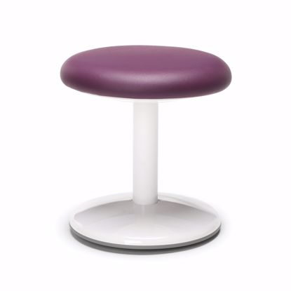 "Picture of ORBIT ACTIVE STOOL 14"" HIGH PURPLE VINYL"