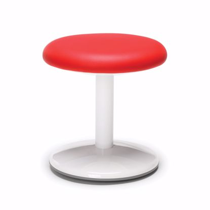 "Picture of ORBIT ACTIVE STOOL 14"" HIGH RED VINYL"