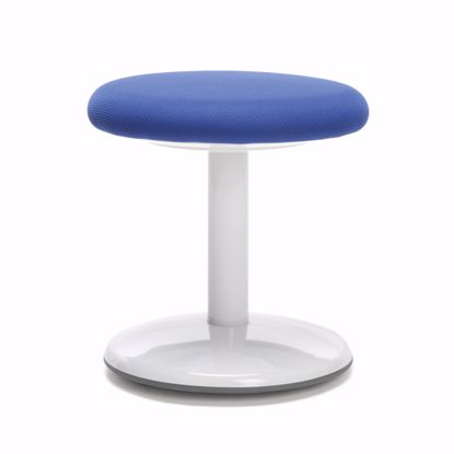 "Picture of ORBIT ACTIVE STOOL 14"" HIGH BLUE FABRIC"