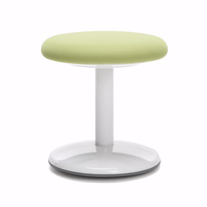"Picture of ORBIT ACTIVE STOOL 14"" HIGH GREEN FABRIC"