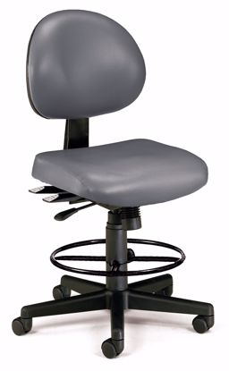 Picture of 24/7 TASK CHAIR W/DK - CHARCOAL VINYL AM