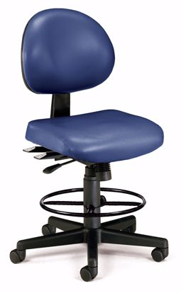 Picture of 24/7 TASK CHAIR W/DK-605-NAVY VINYL