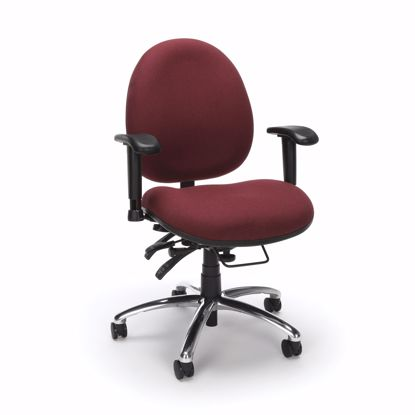 Picture of 24/7 CHAIR - 201-BURGUNDY