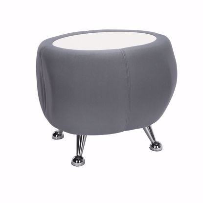 Picture of JUPITER TABLE 2315-GRAY W/ WHITE TOP
