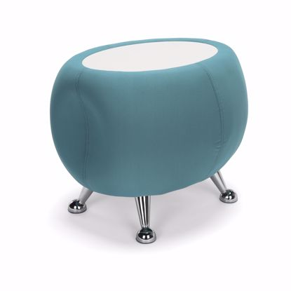 Picture of JUPITER TABLE 2331-GREEN W/ WHITE TOP