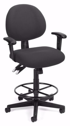 Picture of 24/7 COMP TASK CHAIR W/ARMS+DK -203-CHAR