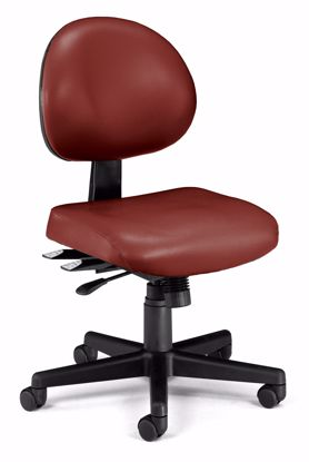 Picture of 24/7 TASK CHAIR IN WINE VINYL AM