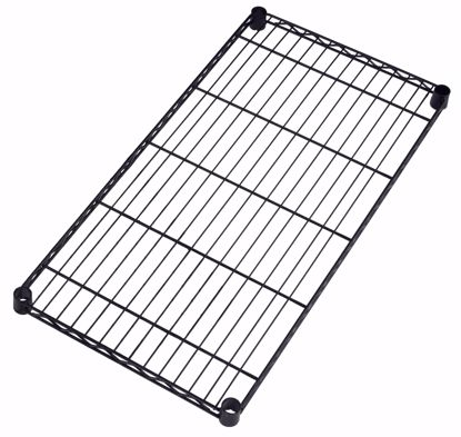 Picture of 2 PACK WIRE SHELF 36 X 18 - BLACK