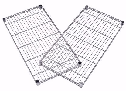 Picture of 2 PACK WIRE SHELF 36 X 18 - SILVER