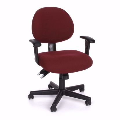 Picture of 24/7 COMPUTER TASK CHAIR W/ARMS-201-BURG