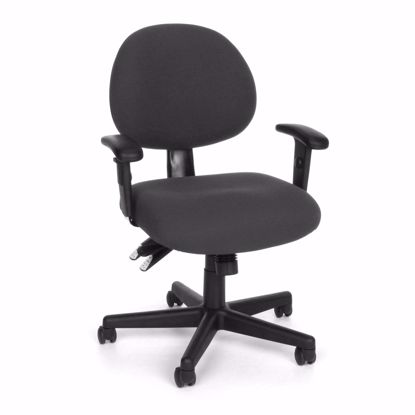 Picture of 24/7 COMPUTER TASK CHAIR W/ARMS-203-CHAR