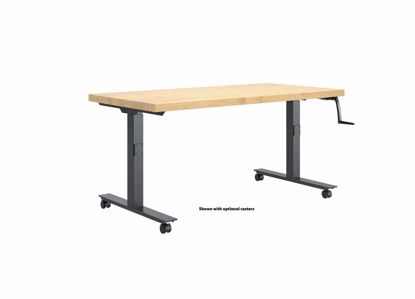 Picture of HI-LO BENCH - 60 X 30 MAPLE BUTCHER BLOCK