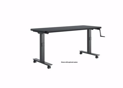 Picture of HI-LO BENCH - 60 X 24 P-LAM BLK
